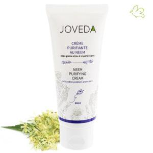 Joveda cosmétique ayurvédique Crème purifiante au Neem peaux acnéiques