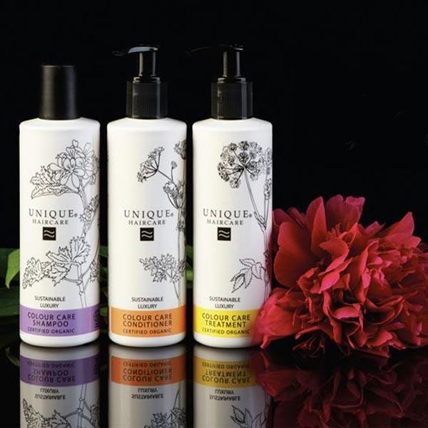 ligne de soins capillaires bio pour cheveux colors et mchs unique haircare - Shampoing Bio Cheveux Colors
