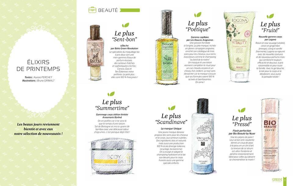 Elixirs de Printemps - Le Shampooing Hydratant Unique Haircare dans la sélection de Green Attitude
