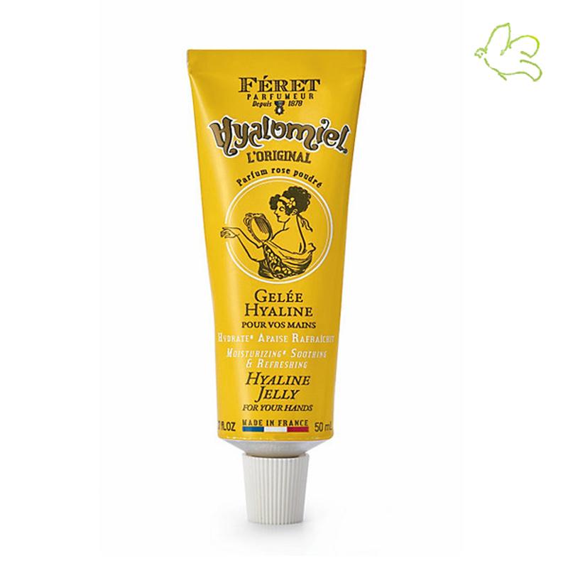 Féret Parfumeur Hyalomiel original Gelée pour mains pieds naturel rose poudrée miel