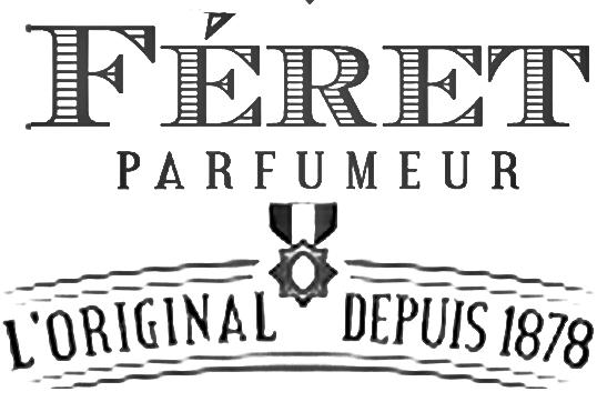 Féret Parfumeur cosmétique naturelle made in France logo rétro vintage
