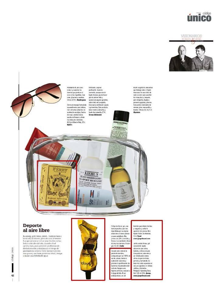 Bloc Hyalin dans le prestigieux magazine espagnol La Vanguardia