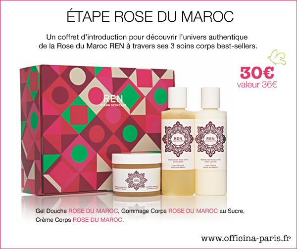 REN skincare Coffret Rose du Maroc soin corps