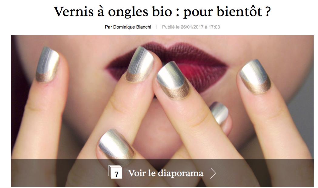 Vernis à ongles bio: pour bientôt? marieclaire.fr