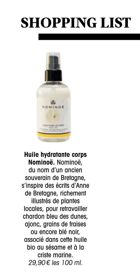 madame figaro bretagne nominoe huile corps