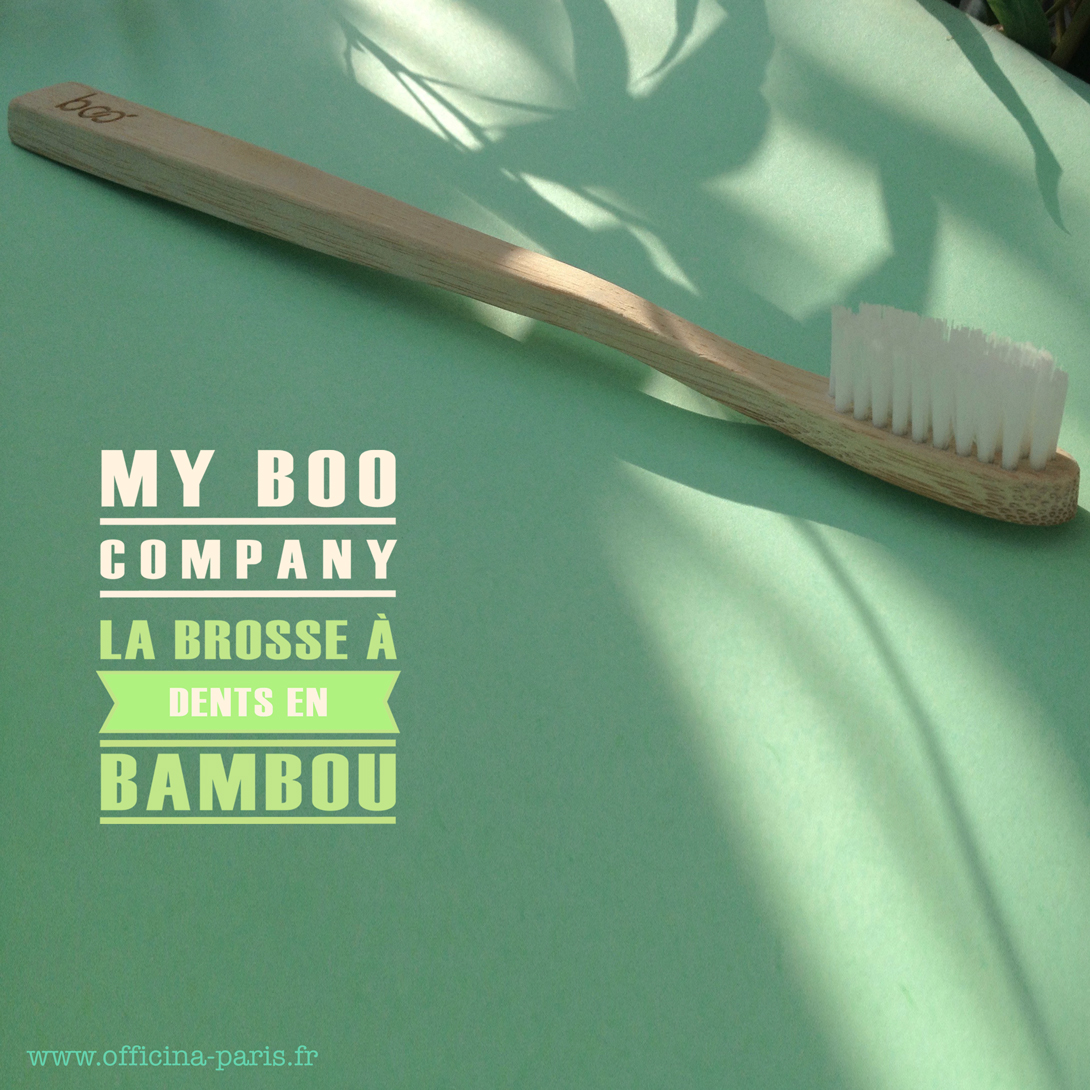 BOO La Brosse à Dents en Bambou