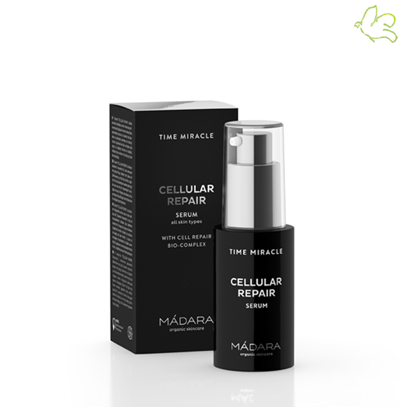 Madara cosmétiques bio Sérum Anti-âge Time Miracle Cellular Repair