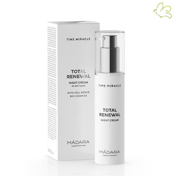 Madara cosmétique bio Anti âge Time Miracle Total Renewal Crème de Nuit