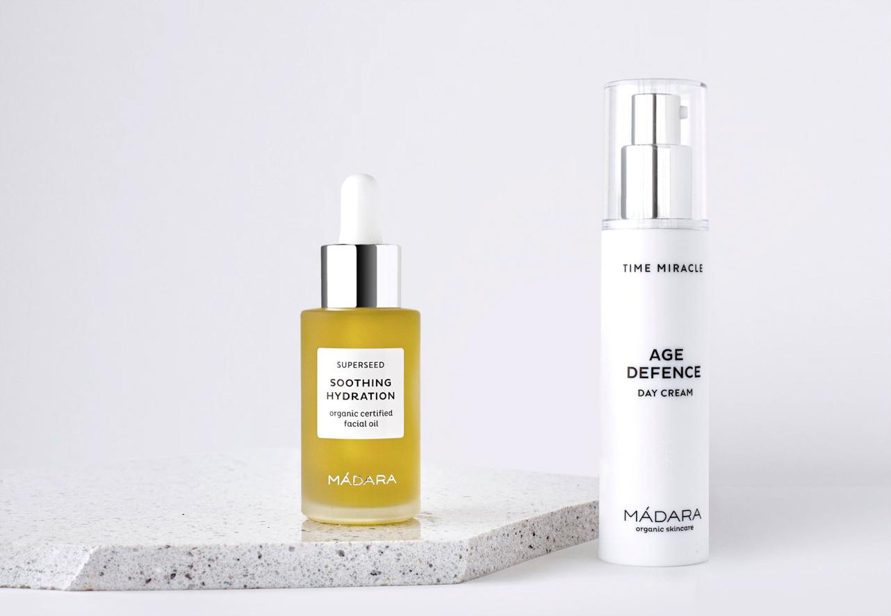 Madara cosmétique bio Peau sèche et Mature Huile Visage Superseed Crème de jour Time Miracle Age Defence