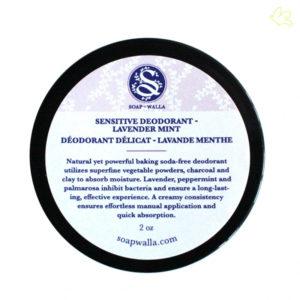 SOAPWALLA - Déodorant crème naturel DÉLICAT Lavande Menthe