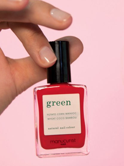 Les vernis à ongles Green de Manucurist Paris