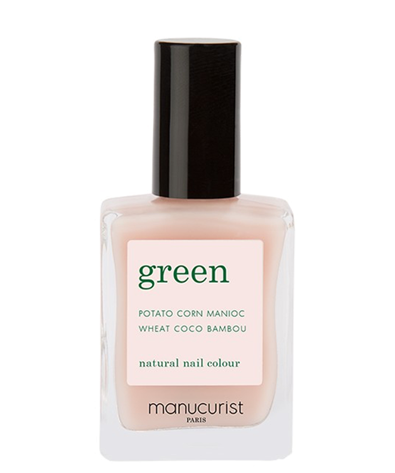 Vernis naturel Pale Rose collection Green Manucurist