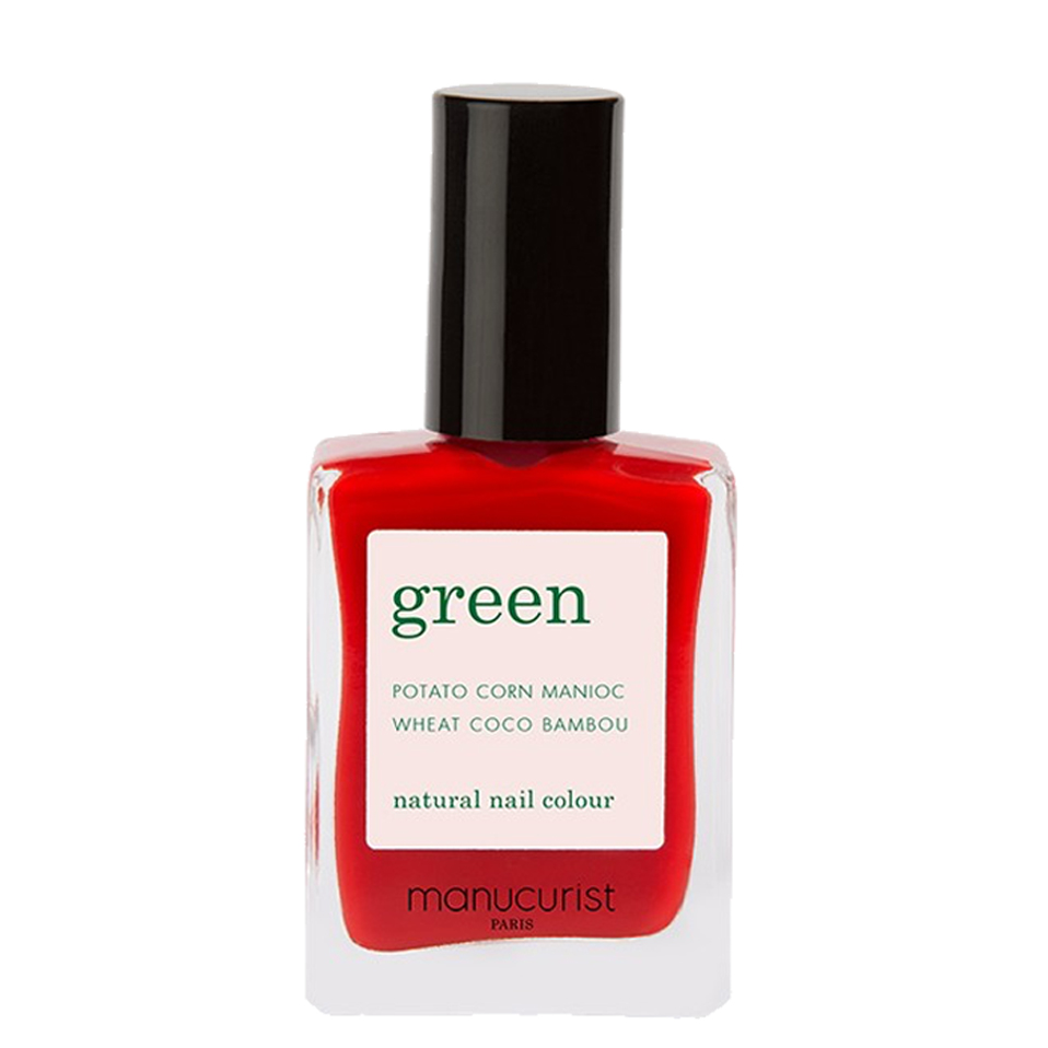 Vernis Green Poppy Red Manucurist Paris