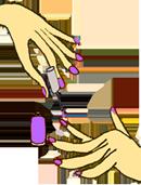 Vernis à Ongles non-toxiques Violet