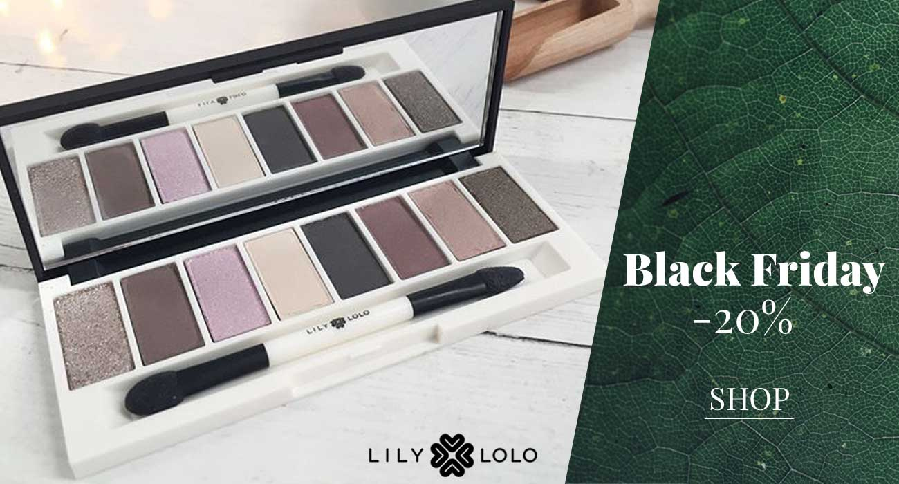 Lily Lolo maquillage minéral Palette yeux