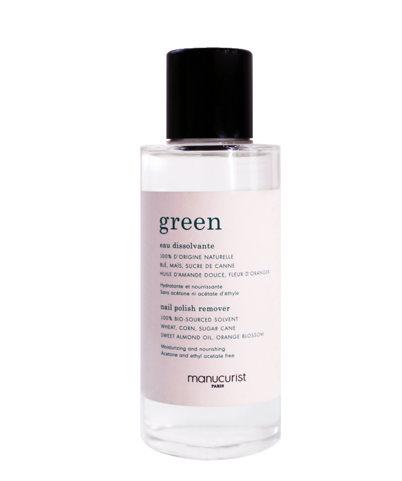 Eau Dissovante Green de Manucurist Paris