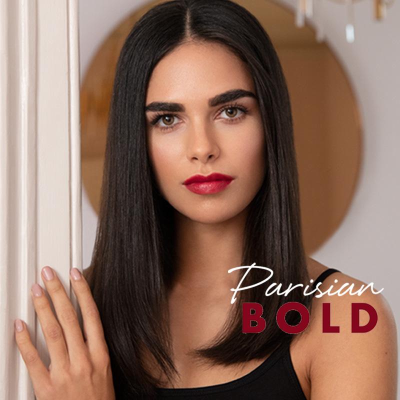 Lily Lolo maquillage minéral Look Parisian Bold Rouge à Lèvres Naturel Desire