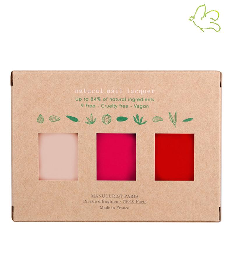 Manucurist Green Coffret Fête des Mères Love Mum - Pale Rose, Peonie, Anemone