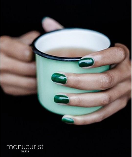 MANUCURIST Nail Polish UV Green N°3