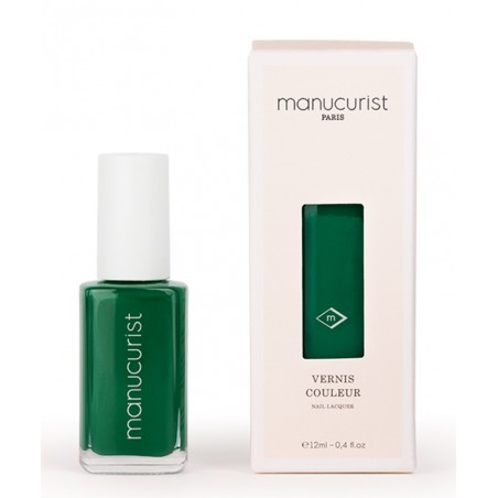 MANUCURIST Paris - Vernis UV Vert N°3 vert empire - Made in France green