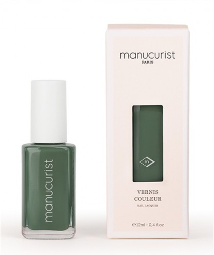 Manucurist Nail Polish UV Green N°2 vegan cruelty free Made in France natural beauty