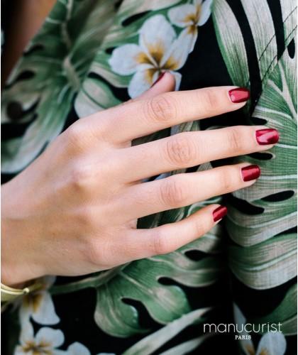 MANUCURIST - Nail Polish Shimmery Chestnut - Marron N°3