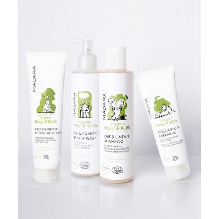 MADARA Gel Douche Doux bio Bébé & Enfants Avoine & Camomille organic cosmetics -