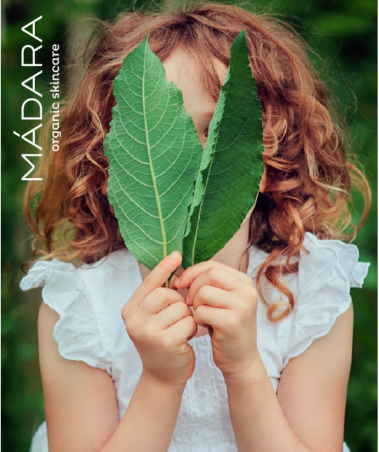 MADARA Crème Hydratante Bébé & Enfants Mûre Blanche & Avoine bio organic cosmetics -