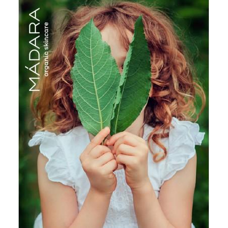 MADARA organic cosmetics - Huile Onctueuse Bébé & Enfant Cacao & Prune