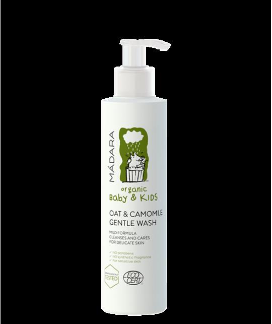 MADARA Oat & Camomile Gentle Wash Baby & Kids organic cosmetics