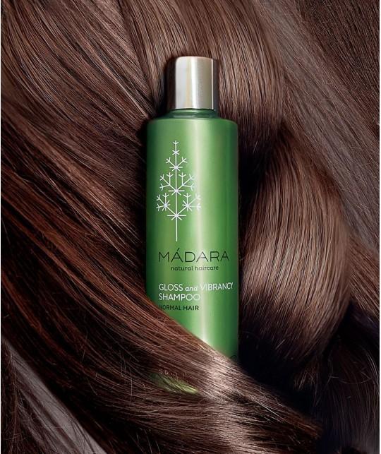 MADARA cosmetics Gloss & Vibrancy Shampoo organic Natrukosmetik