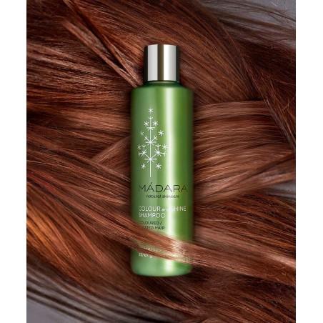 MADARA Shampooing bio Couleur & Brillance organic cosmetics -