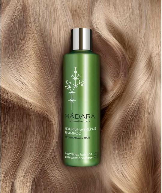 MADARA cosmétique Shampooing bio Cheveux secs et Abîmés