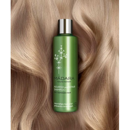 MADARA Shampooing bio Cheveux secs et Abîmés