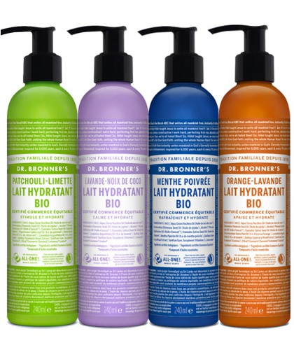 Dr. Bronner's Organic Body Lotion Orange Lavender