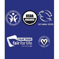 Dr. Bronner's - Savon Liquide bio Pur Végétal naturel certifications vegan fairtrade équitable  BIDH Made in USA