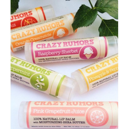 Crazy Rumors - Baume à Lèvres Naturel Vanille Orange