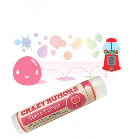 CRAZY RUMORS Lippenbalsam Berry Bubble