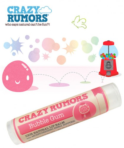 Crazy Rumors - Lippenbalsam Bubble Gum