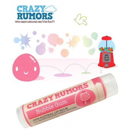 Crazy Rumors - Baume Lèvres Naturel Bubble Gum