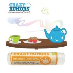 Crazy Rumors Natural Lip Balm Peppermint Lemongrass