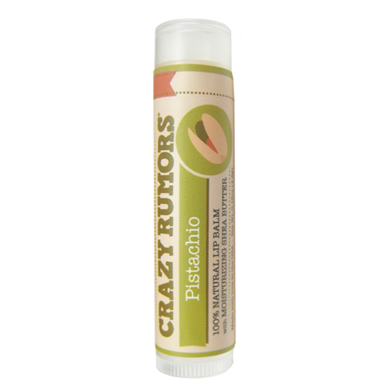 Crazy Rumors - Baume Lèvres Naturel Pistachio