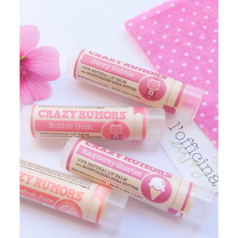 Crazy Rumors - Baume Lèvres Naturel Pamplemousse rose