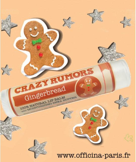 Crazy Rumors Natural Lip Balm Gingerbread