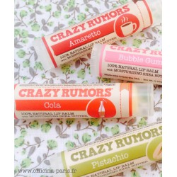 Crazy Rumors Baume Lèvres Naturel Amaretto vegan cruelty free