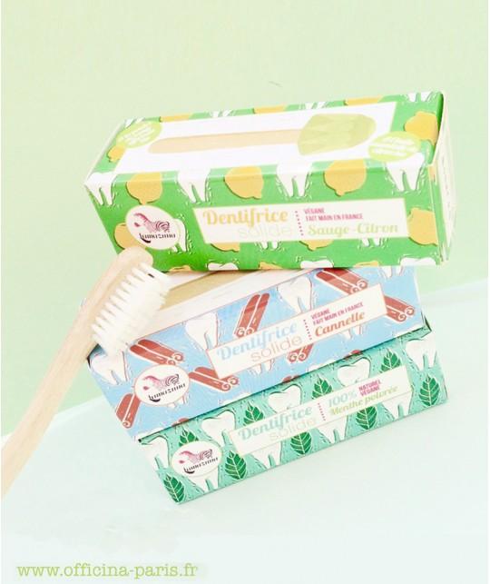 Lamazuna Solid Toothpaste Sage Lemon organic