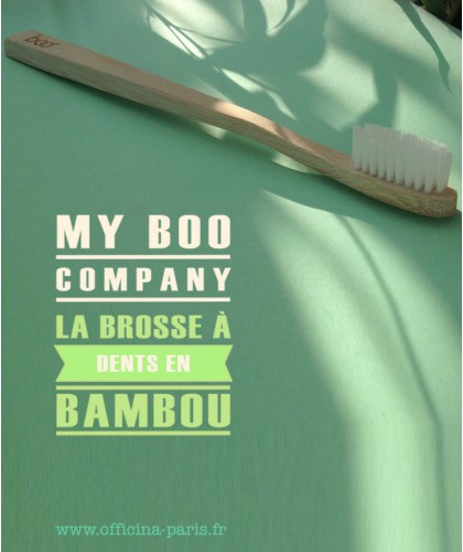 My BOO Company - Sustainable Bamboo Toothbrush - Adult (medium)