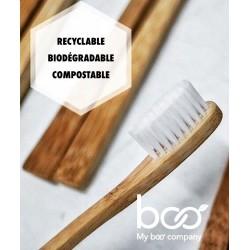 nachhaltige zahnb rste aus bambus erwachsene mittel. Black Bedroom Furniture Sets. Home Design Ideas