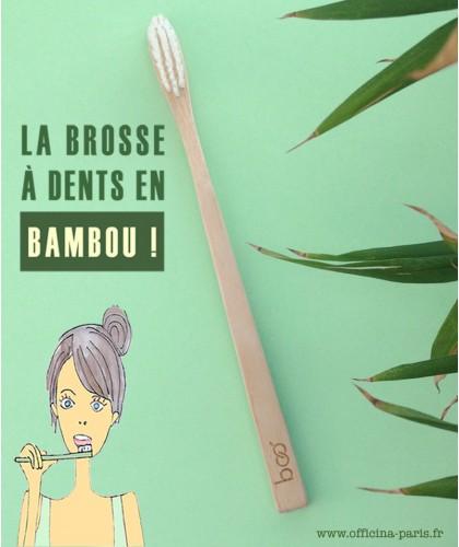 My BOO Company - Brosse à Dents recyclable en Bambou compostable biodégradable écologique green vegan