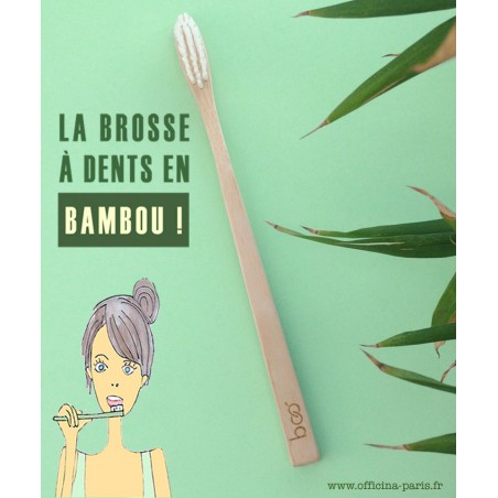 My BOO Company - Brosse à Dents recyclable en Bambou compostable biodégradable écologique green vegan